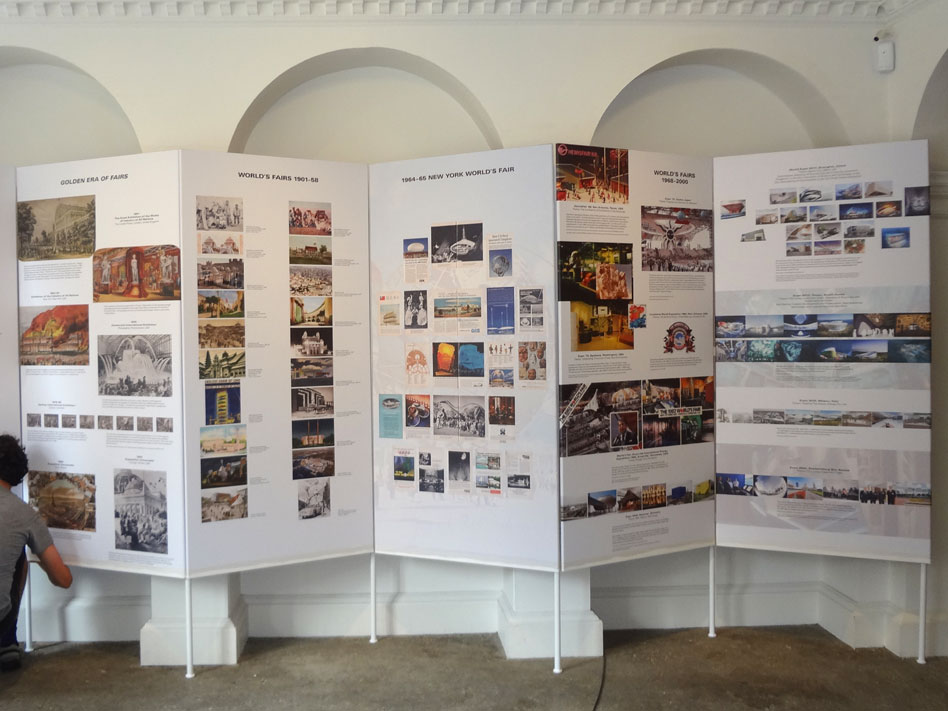 ... Fairs Historical Display : History of World's Fairs display boards